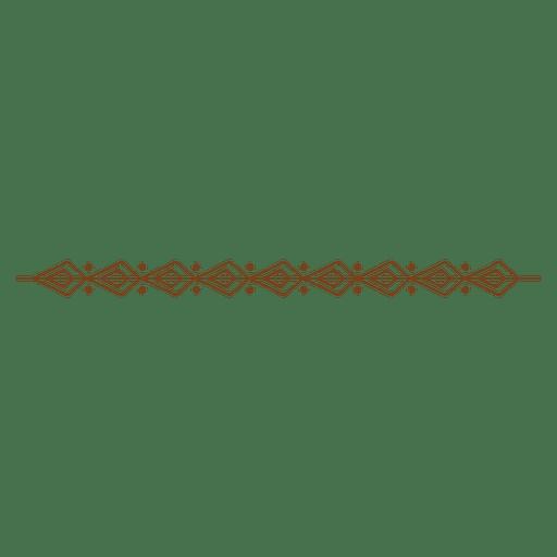 Linea de decoracion de dibujo Transparent PNG