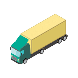 LKW-Transport-Logistik-Symbol