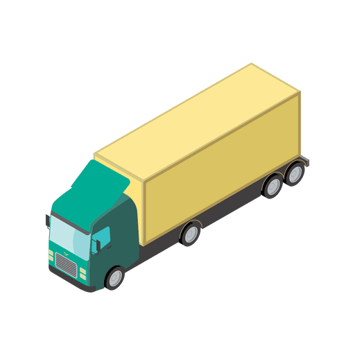 Lorry transport logistic icon Transparent PNG