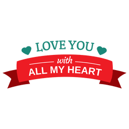 te quiero Valentine insignia