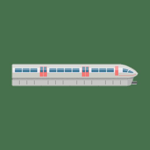 Maglev train.svg Transparent PNG