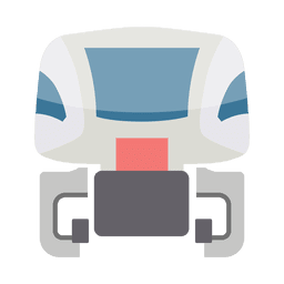 Maglev train front.svg