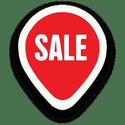 Adesivo de venda oval de marcador