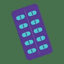 Icono de tira de medicina