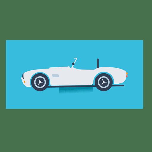 Mercedes 300 sl flat car
