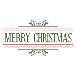 selo decorativo Feliz Natal