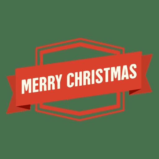 Frohe Weihnachten Band Abzeichen Transparent PNG