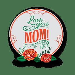 Insignia del dia de la madre