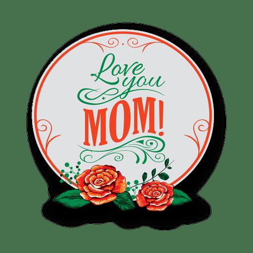 Insignia del dia de la madre Transparent PNG