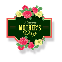 Mothers day label
