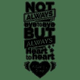 Muttertag Schriftzug Zitat