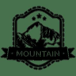 Berg-Camping-Label