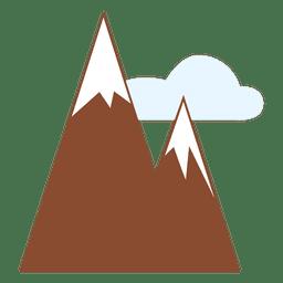 icono de montañas