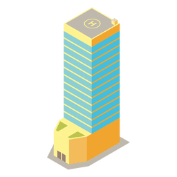 Multi storied isometric tower
