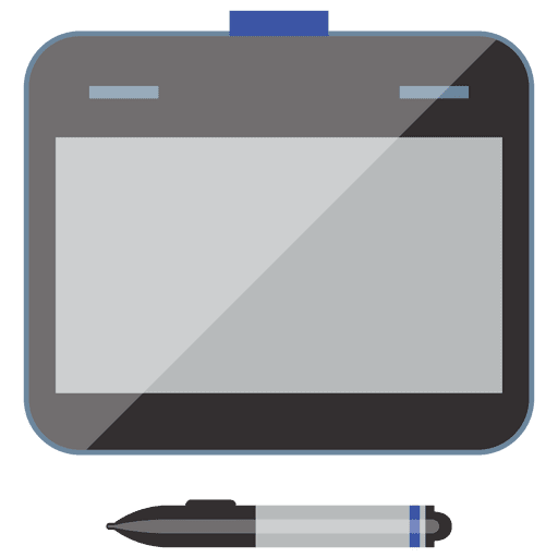 Notebook device flat icon Transparent PNG