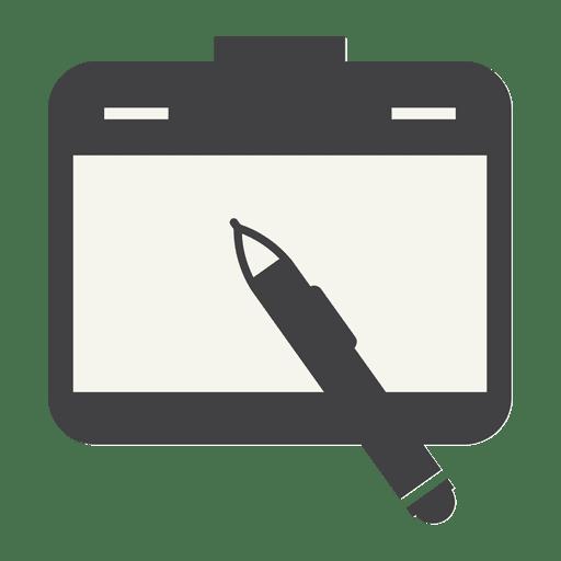 Ícone plana de notebook Transparent PNG