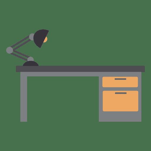 Office Desk Vector Transparent PNG