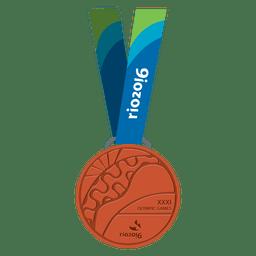 Medalla olímpica de bronce