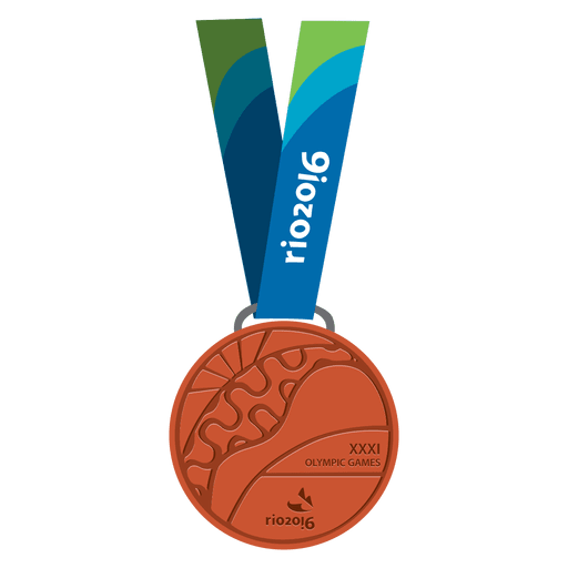 Medalla olímpica de bronce Transparent PNG