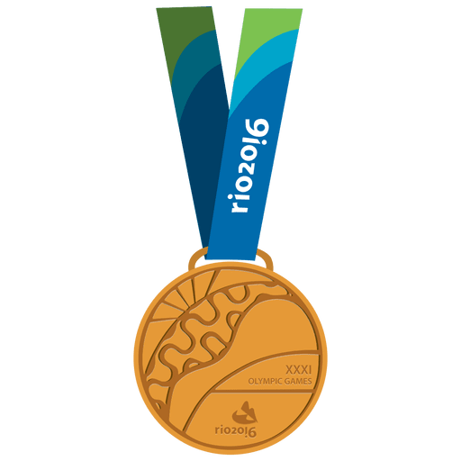 Medalla de oro olimpica Transparent PNG