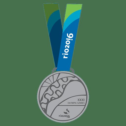 Medalla de plata olimpica Transparent PNG