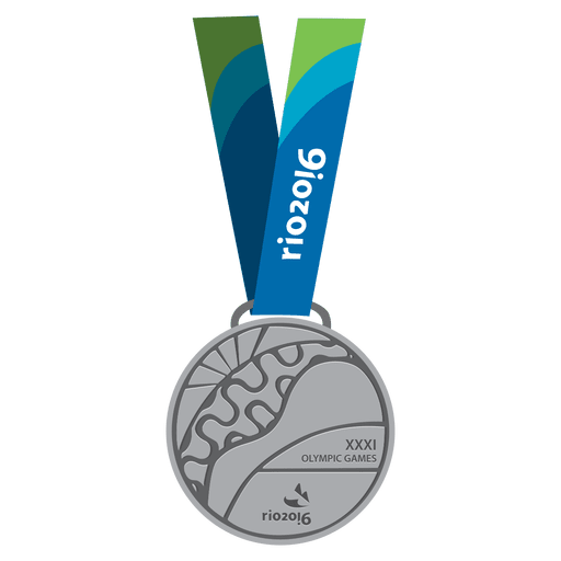 Olympic silver medal Transparent PNG