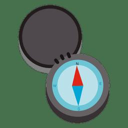 Kompass-Reise-Symbol öffnen