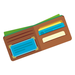 Open wallet icon
