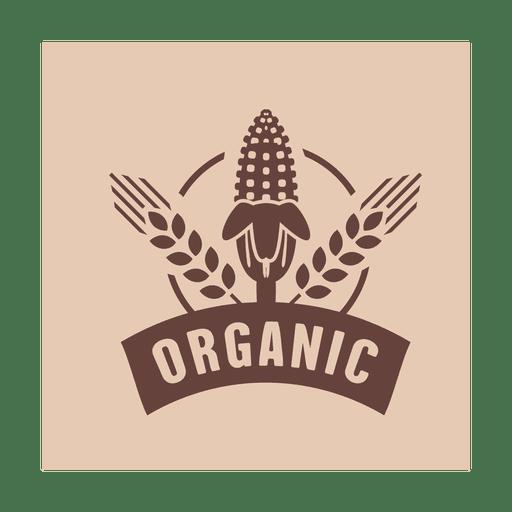 Organic corn logo.svg Transparent PNG