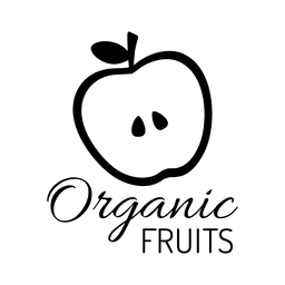 Organic fruit label.svg