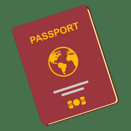 Icono de viaje de pasaporte Transparent PNG