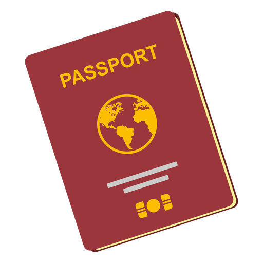 Passport travel icon Transparent PNG