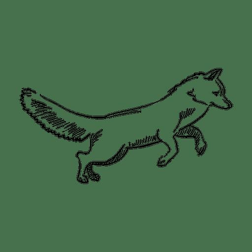 Dibujo A Lápiz Zorro Descargar Pngsvg Transparente
