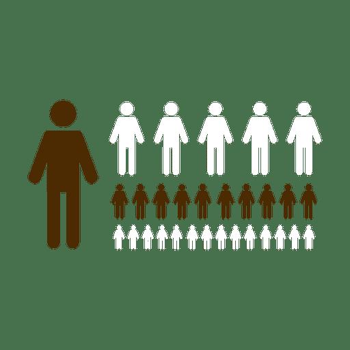 People symbols infographic.svg