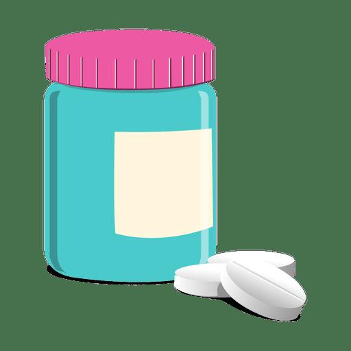 Botella de pastillas farmac?uticas