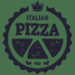 Italienisches Pizza-Logo