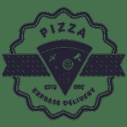 Pizza-Lieferungs-Logo