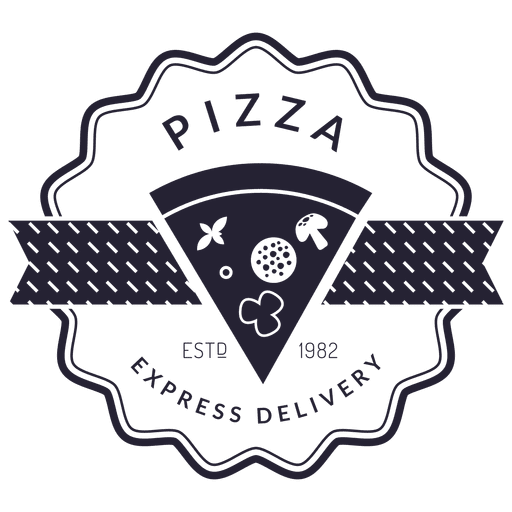 Pizza Delivery Logo Transparent PNG