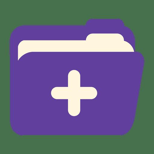 Ícone de pasta de prescrição Transparent PNG