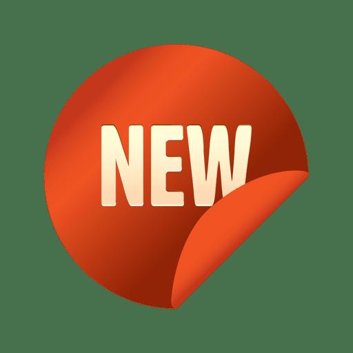 Promotional flipped sale sticker Transparent PNG