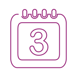 Purple calendar line icon.svg