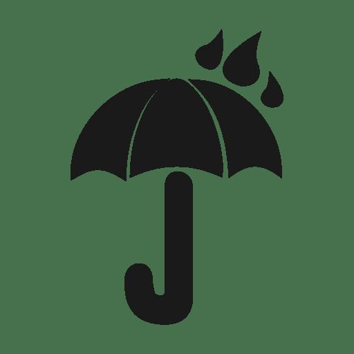 Rain umbrella icon.svg Transparent PNG