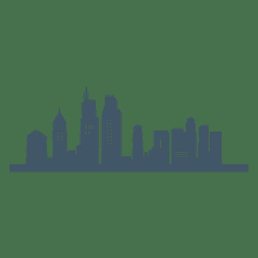 Immobilien Wolkenkratzer Symbol
