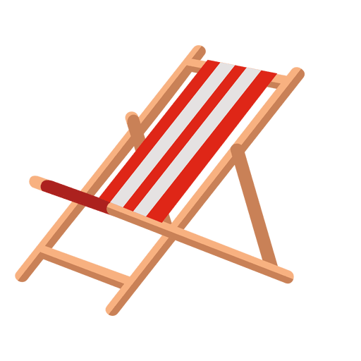 Icono al aire libre reclinado
