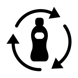 Recycle bottle plastic.svg