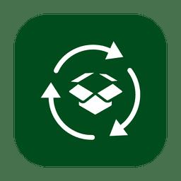 Reciclar papelão 2.svg