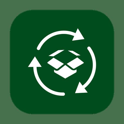 Reciclar papelão 2.svg Transparent PNG