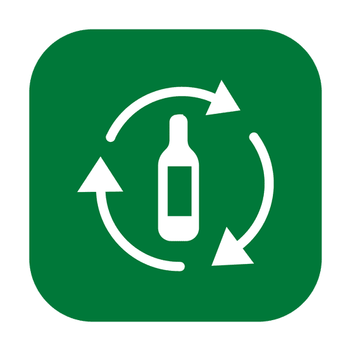 Reciclar vidro 2.svg Transparent PNG