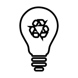 Reciclar lightbulb.svg