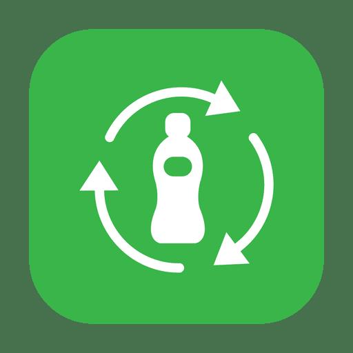 Recycle plastic bottle.svg Transparent PNG